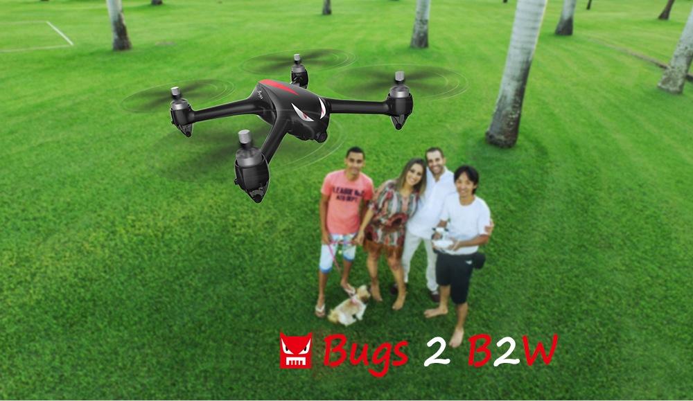 کوادکوپتر ام جی ایکس مدل Mjx Bugs 2W