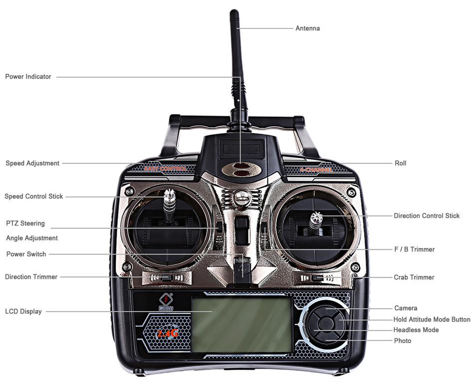 کوادکوپتر دبلیو ال تویز مدل WLtoys Q303-A