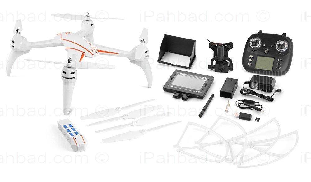 کوادکوپتر دوربین دار دبلیو ال تویز مدل WLtoys Q696-A