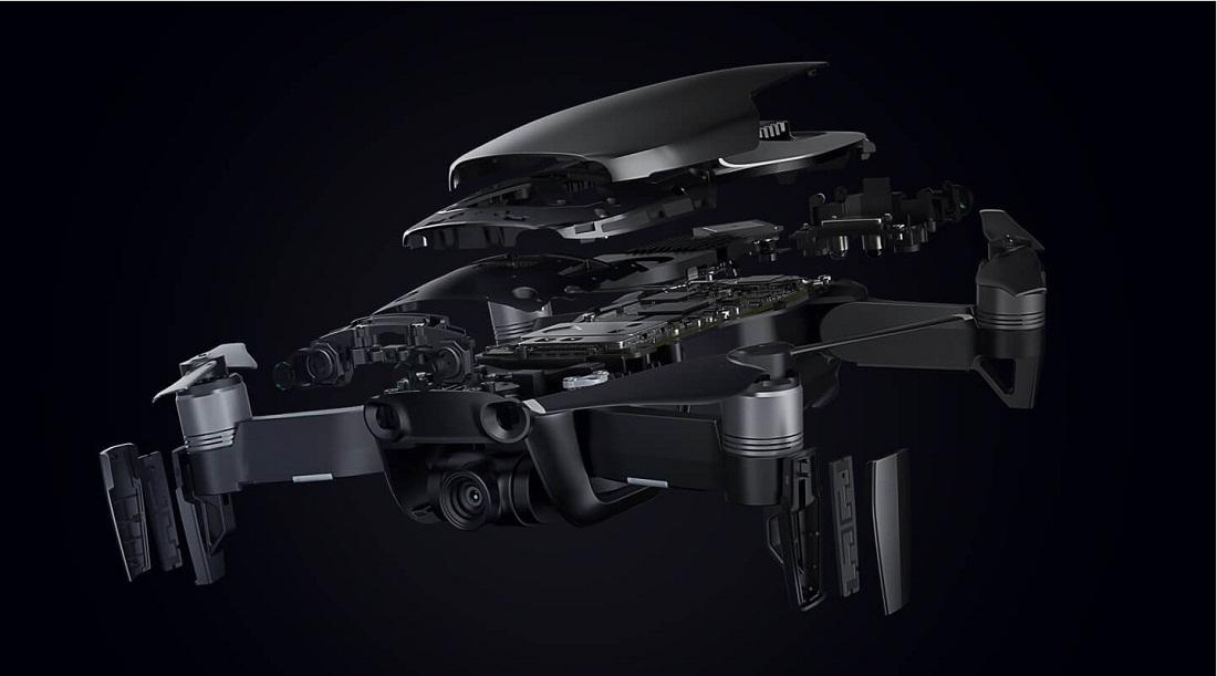 کوادکوپتر دی جی آی مدل DJI Mavic Air بهترین پهپاد سال 2018