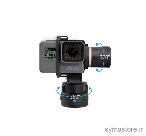 لرزشگیر FeiyuTech WG2 مناسب برای دوربین های ورزشی