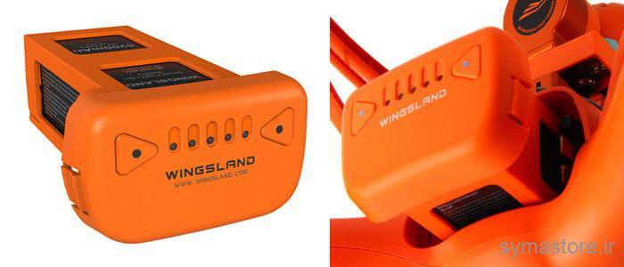 کوادکوپتر وینگزلند مدل Wingsland Scarlet Minivet