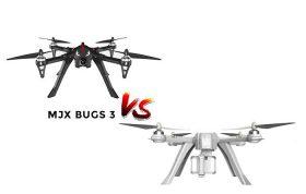 تفاوت کوادکوپتر MJX Bugs 3 با Bugs 3 Pro
